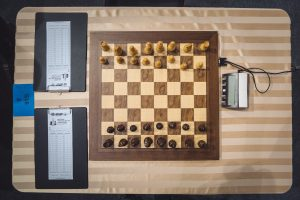 The geometry of chess