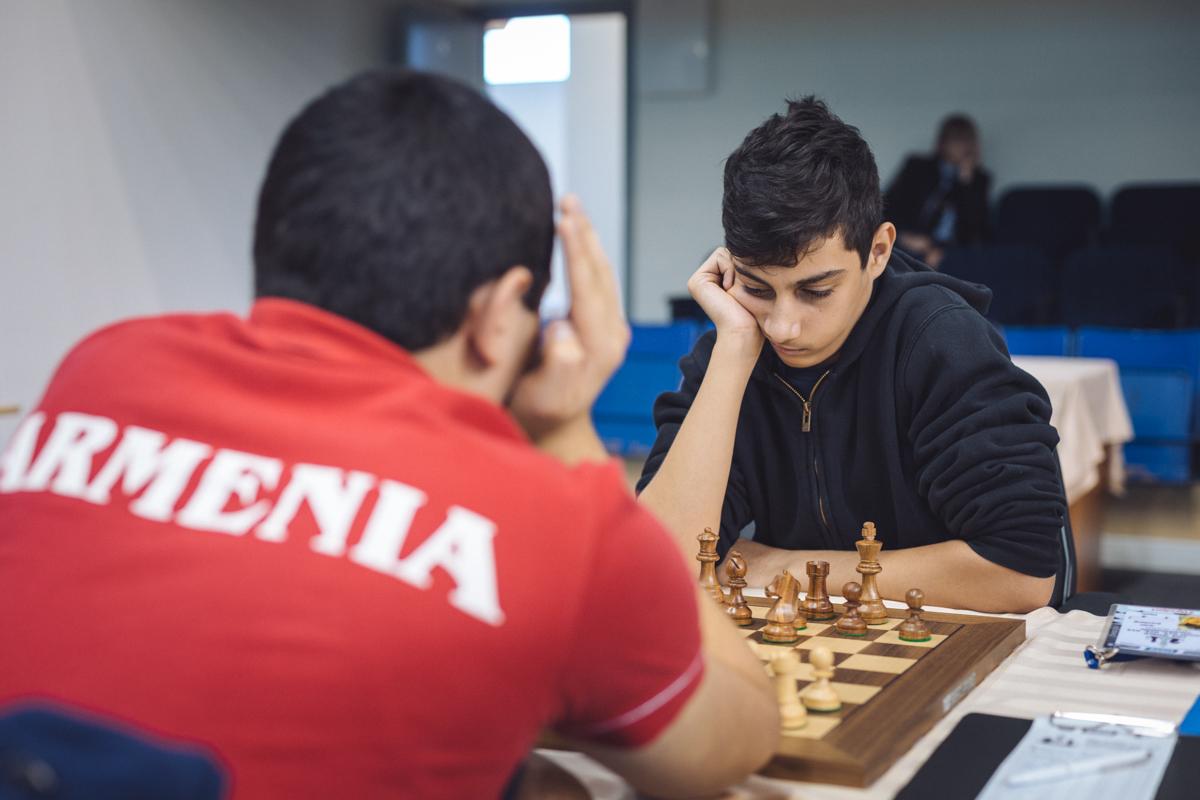 Petrosyan Manuel (ARM) and Erenberg Ariel (ISR)
