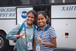 Nirall Hesala Idirisinghe and Hirushika Bandara (SRI)