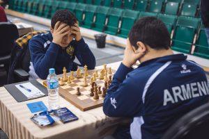 Hakobyan Aram (ARM) and Petrosyan Manuel (ARM)
