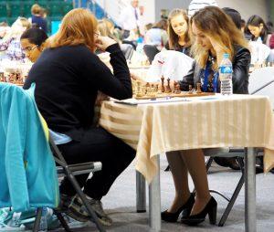 Kanakova Natalie (CZE) and Fiadosenka Rahneda (BLR)