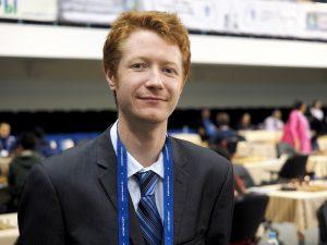 an arbiter Jamie Kenmure (AUS)