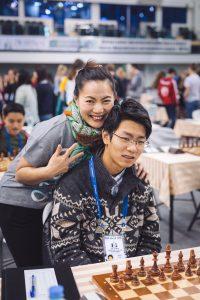 Gong Patrick (AUS) and Shirley Sun (AUS)