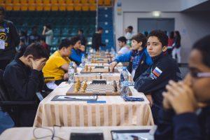 Lomasov Semen (RUS) and Davtyan Artur (ARM)