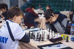 Yeritsyan Aram (RUS) and Nielsen Andre (NOR)